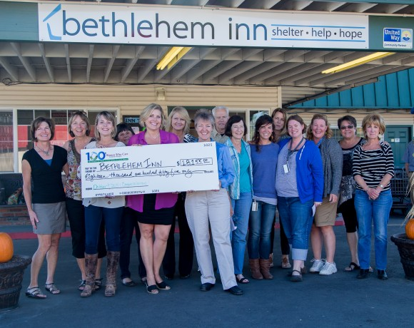 Bethlehem Inn, the first recipient of 100 Women Who Care Central Oregon donations!