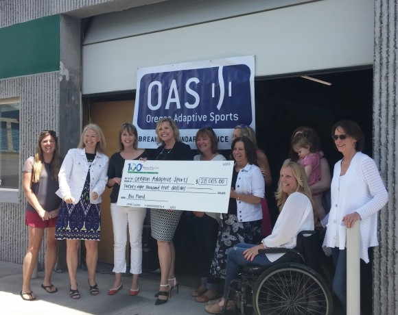 Oregon Adaptive Sports Receives Check for $28,005