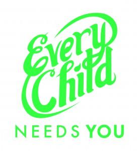 Every Child Assets - One Color Logo + Tagline_Green logo + Tagline on White
